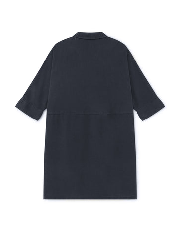 Okushiri Dress - Navy