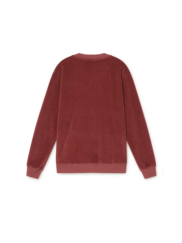 TWOTHIRDS Womens Sweat: Onza - Rose back