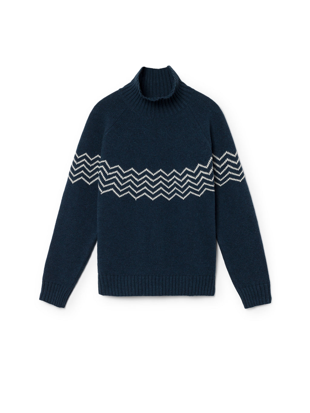 TWOTHIRDS Womens Knit: Ouvea - Navy front