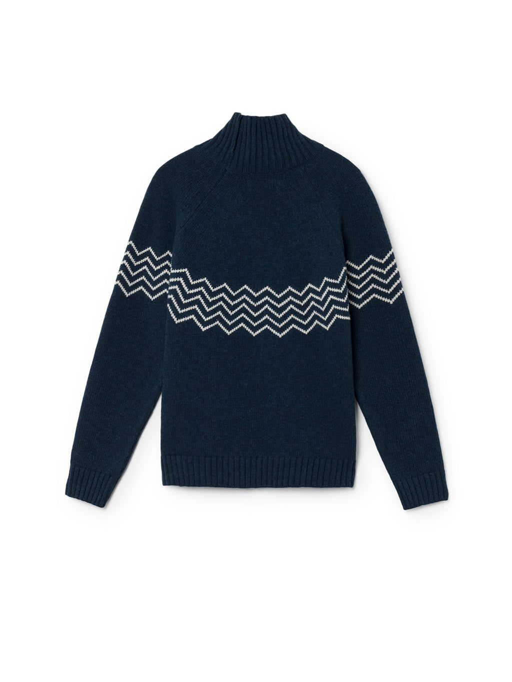TWOTHIRDS Womens Knit: Ouvea - Navy back