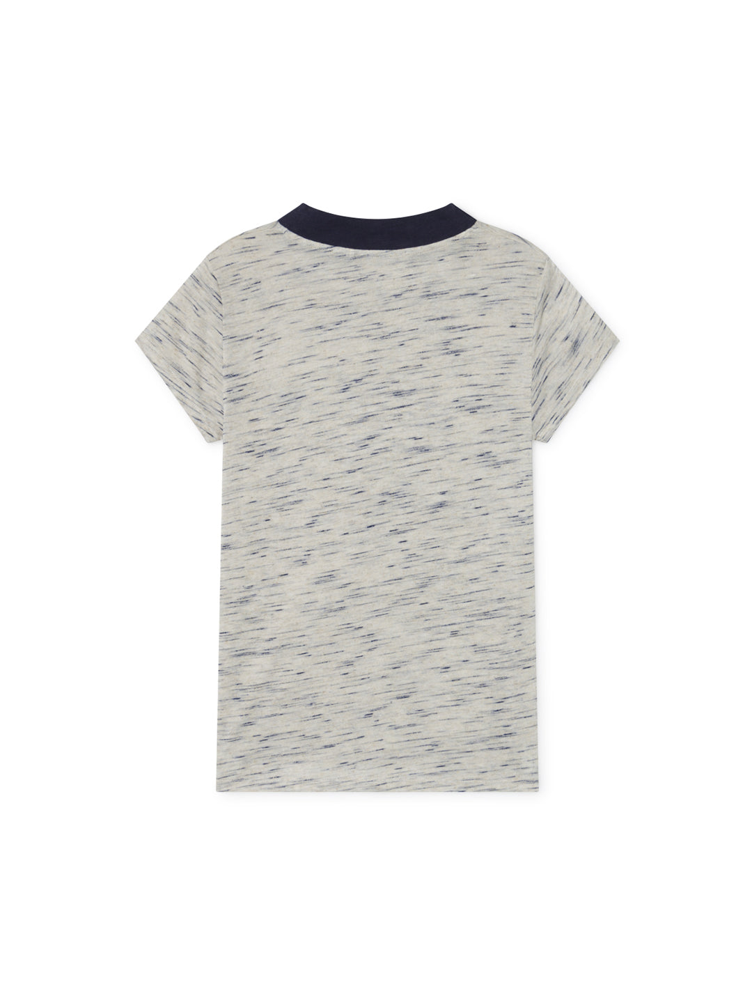 TWOTHIRDS Womens Tee: Oyarvide - Stone/Navy back