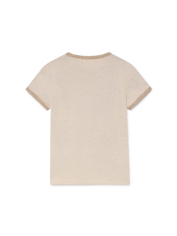 TWOTHIRDS Womens Tee: Palaui - Cream back