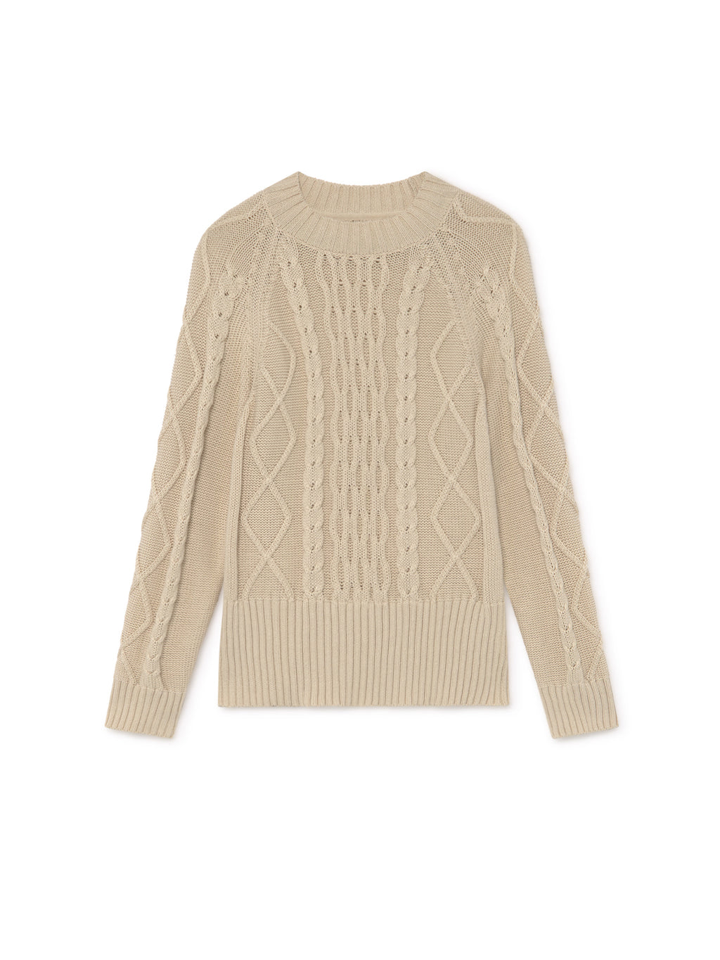 TWOTHIRDS Womens Knit: Pamalican - Ecrue front