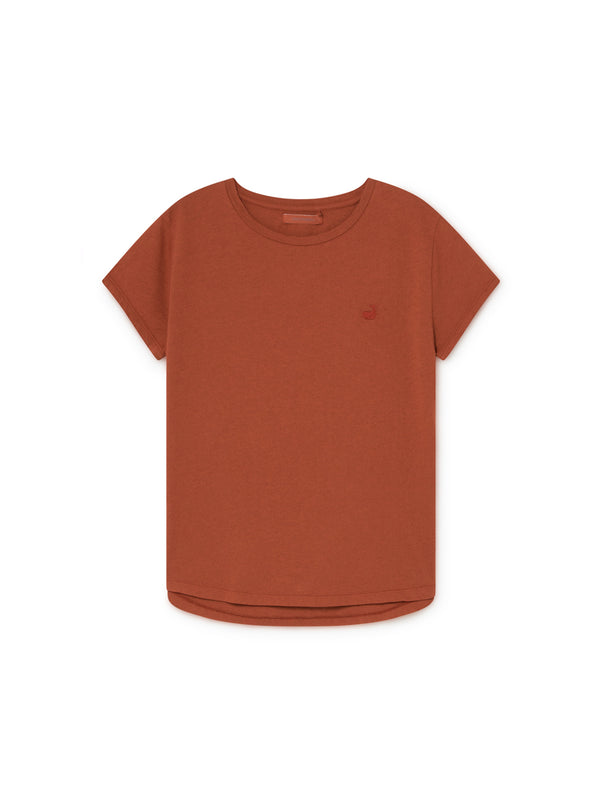 TWOTHIRDS Womens Tee: Pianosa - Picante front