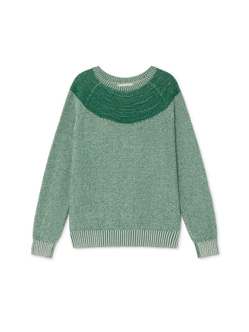 TWOTHIRDS Womens Knit: Rusa - Sage Green front