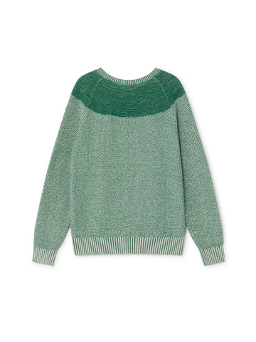 TWOTHIRDS Womens Knit: Rusa - Sage Green back
