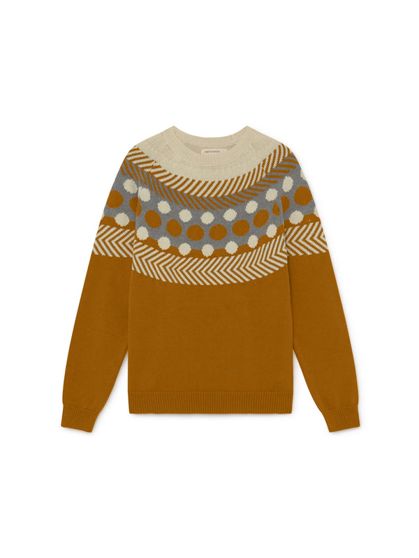 TWOTHIRDS Womens Knit: Samar - Terracotta front