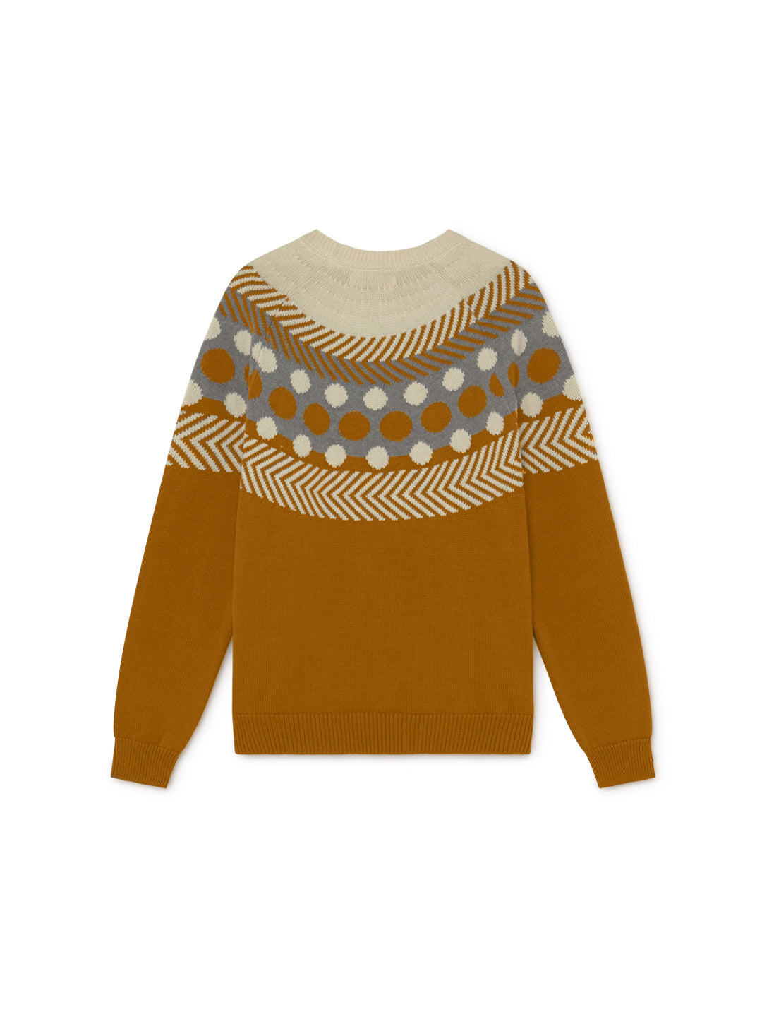TWOTHIRDS Womens Knit: Samar - Terracotta back
