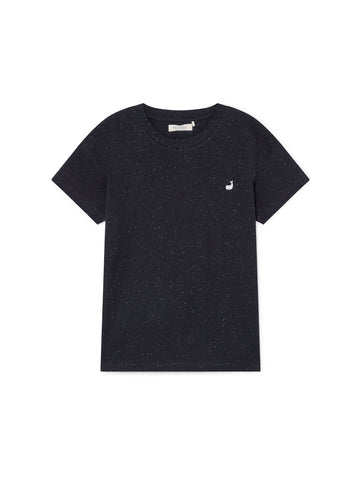 TWOTHIRDS Womens Tee: Sepanggar - Black front