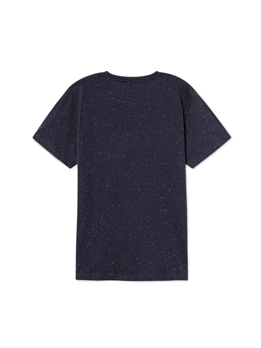 TWOTHIRDS Mens Tee: Sepanggar Man - Navy back