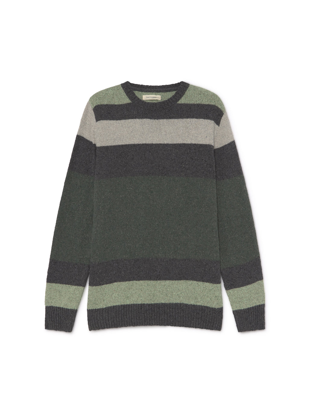 TWOTHIRDS Mens Knit: Siargao - Stripes front
