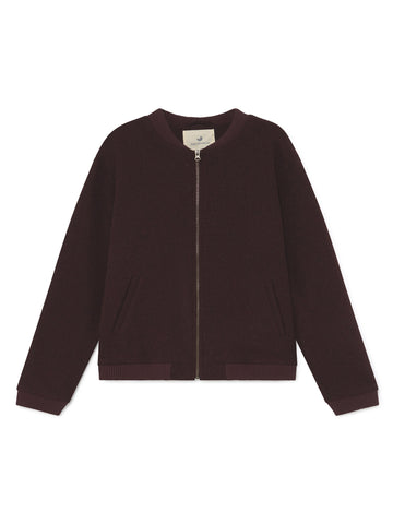 TWOTHIRDS Mens Jacket: Sibuyan - Burgundy front