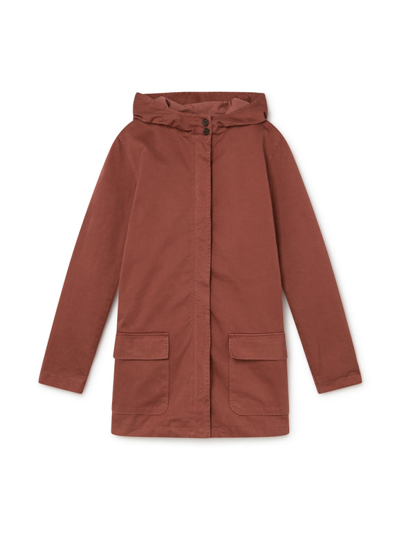 TWOTHIRDS Womens Jacket: Skorpio - Burgundy front