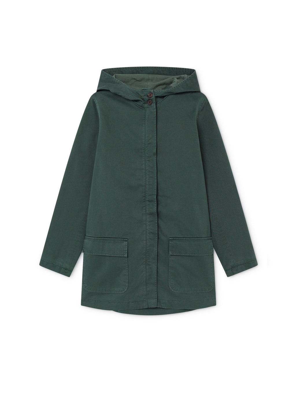 TWOTHIRDS Womens Jacket: Skorpio - Dark Green front