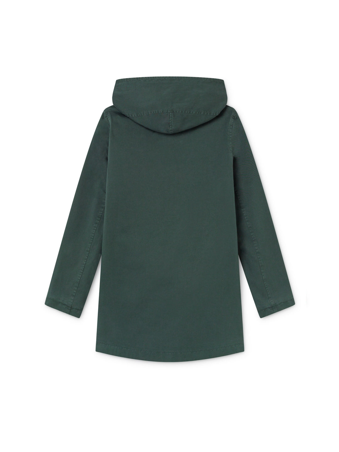 TWOTHIRDS Womens Jacket: Skorpio - Dark Green back