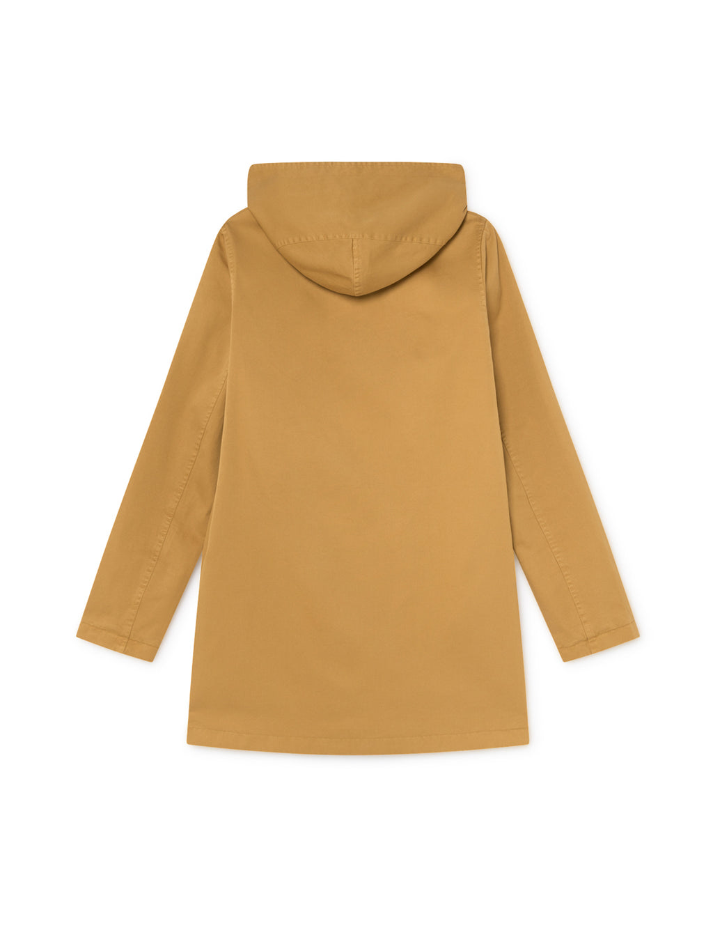 TWOTHIRDS Womens Jacket: Skorpio - Mustard back