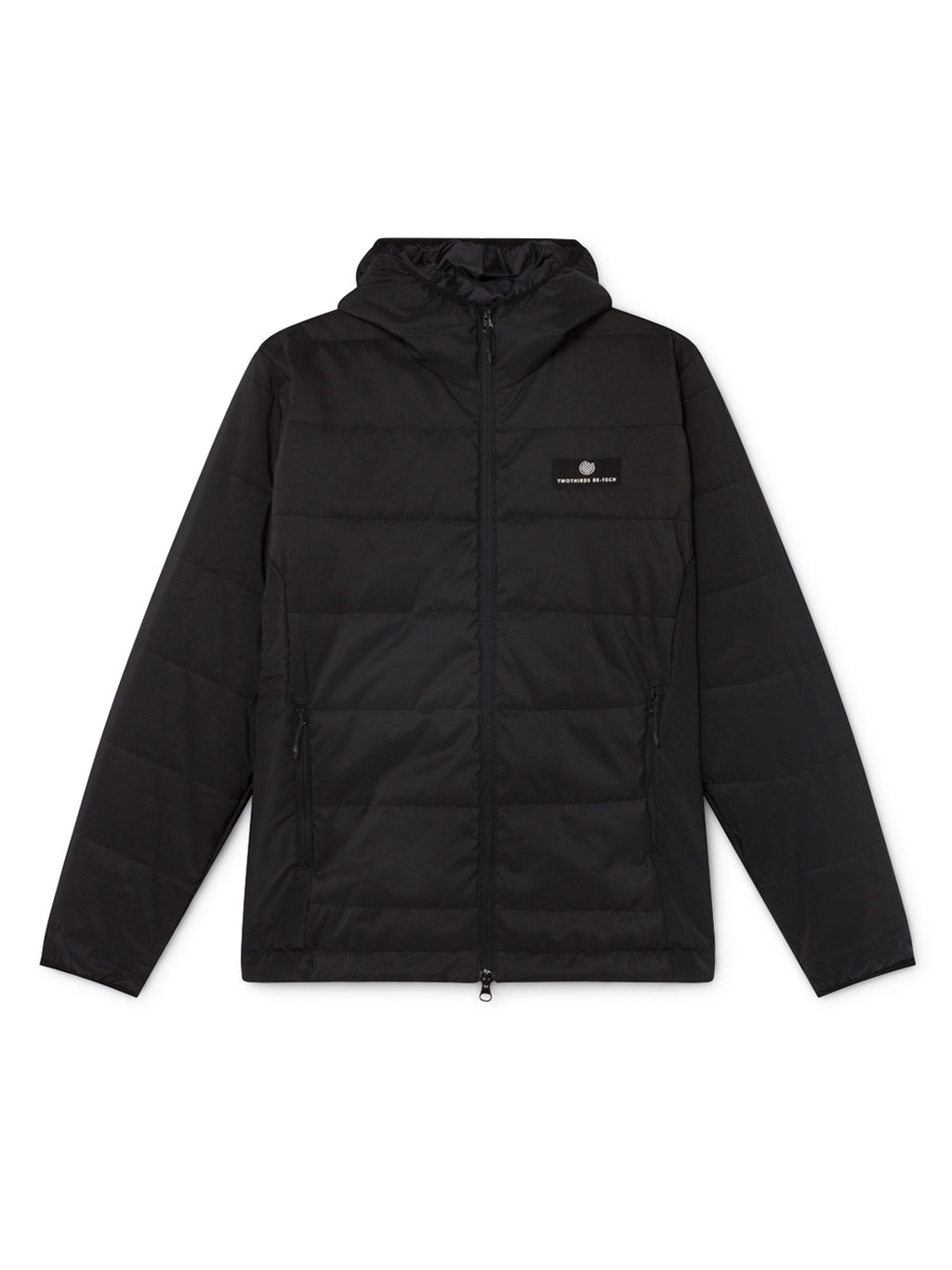 TWOTHIRDS Mens Jacket: Tabarca Men - Black front