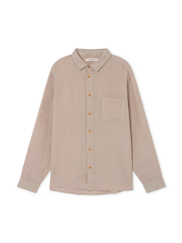 TWOTHIRDS Mens Shirt: Tac - Natural front