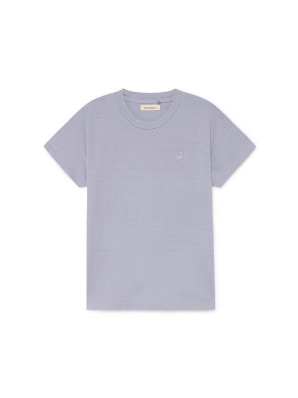 TWOTHIRDS Womens Tee: Tahiti - Cloud front