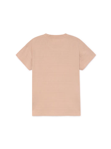 TWOTHIRDS Womens Tee: Tahiti - Pale Pink back