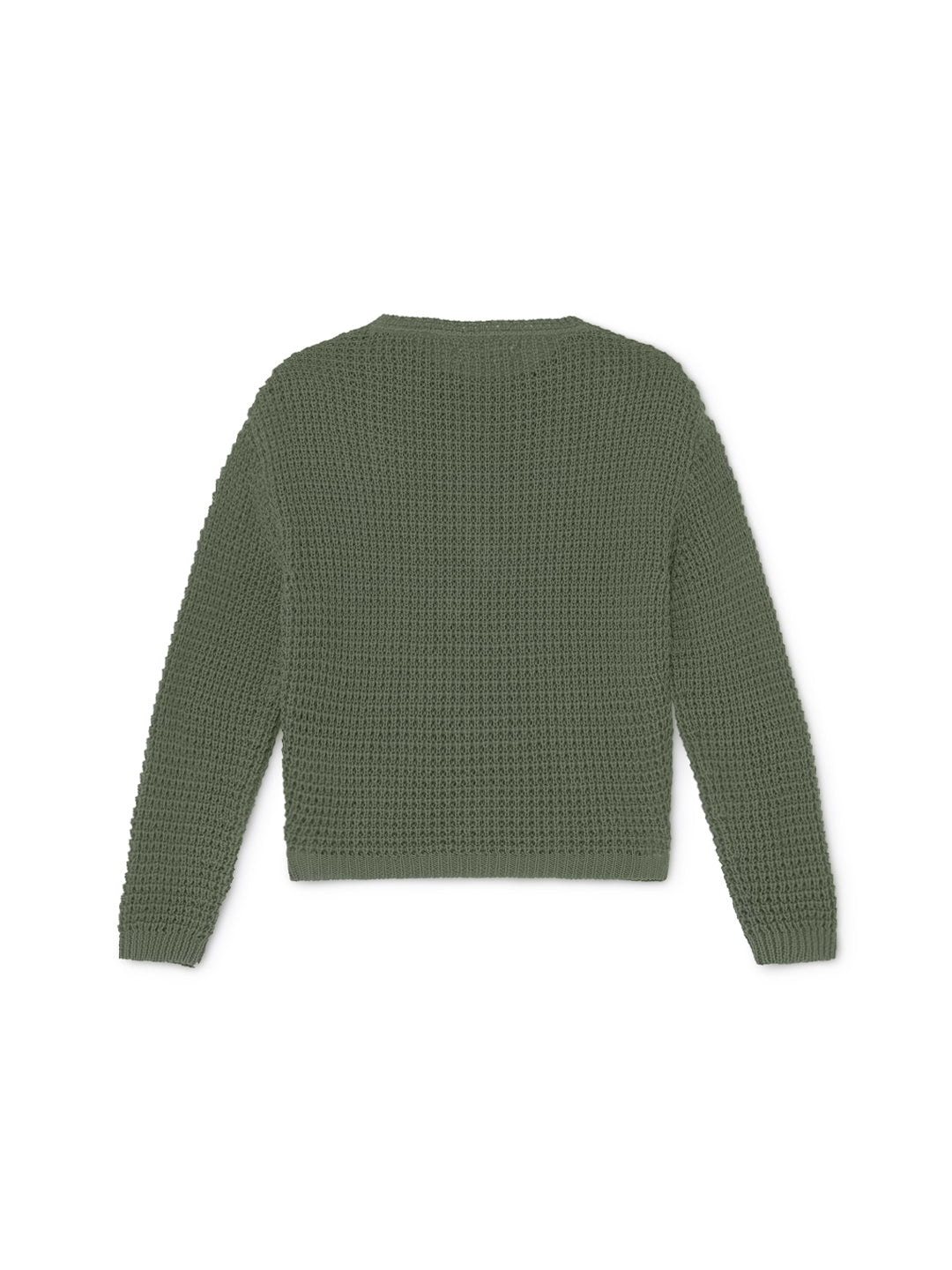 TWOTHIRDS Womens Knit: Teresa - Dusty Green back