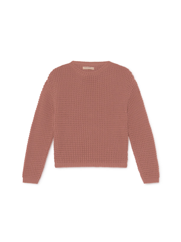 TWOTHIRDS Womens Knit: Teresa - Dusty Pink front