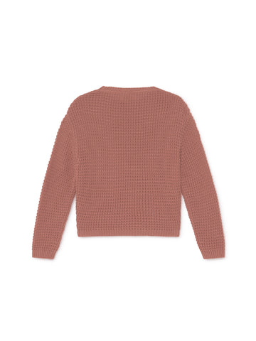 TWOTHIRDS Womens Knit: Teresa - Dusty Pink back