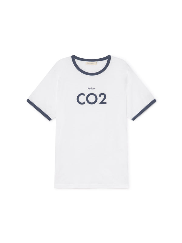 TWOTHIRDS Mens Tee: Thunberg - CO2 front