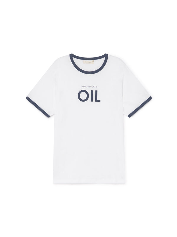 TWOTHIRDS Mens Tee: Thunberg - OIL front