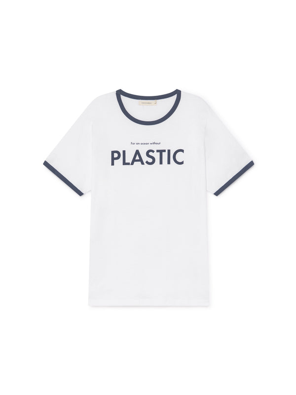 TWOTHIRDS Mens Tee: Thunberg - PLASTIC front