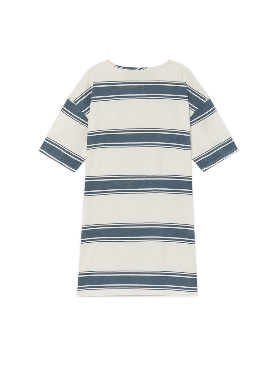 TWOTHIRDS Womens Dress: Tilou - Blue Stripes back