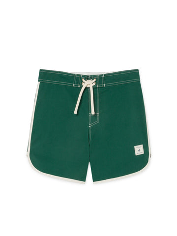 TWOTHIRDS Mens Boardshorts: Tinos - Trekking Green front