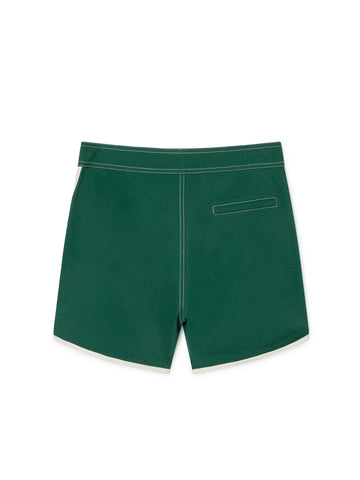 TWOTHIRDS Mens Boardshorts: Tinos - Trekking Green back