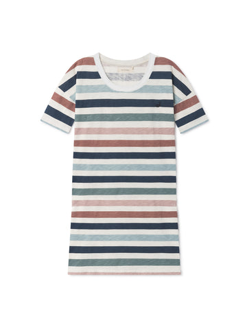 TWOTHIRDS Womens Tee: Vido Dress - Striped front