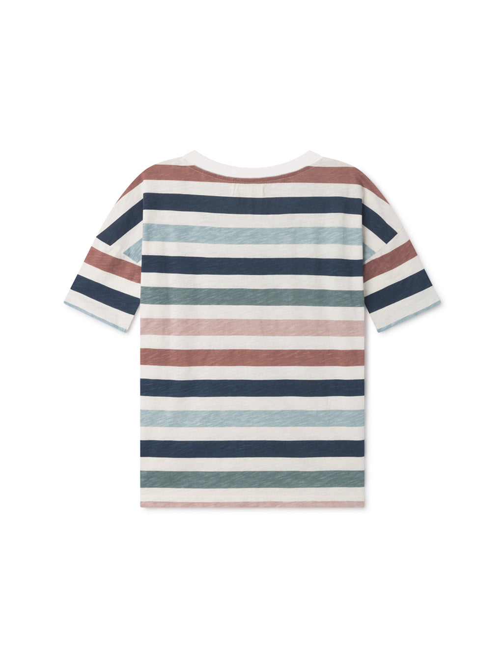TWOTHIRDS Womens Tee: Vido - Striped back
