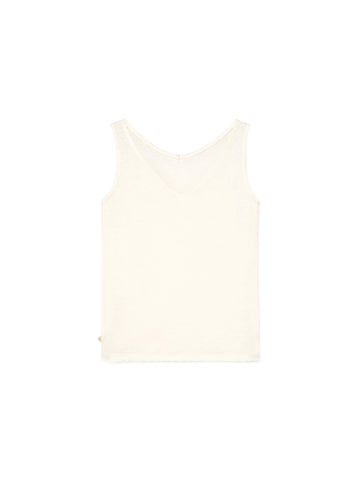 TWOTHIRDS Singlet: Visayas off white back view