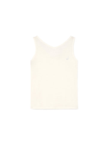 TWOTHIRDS Singlet: Visayas off white front view