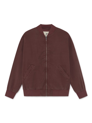 TWOTHIRDS Womens Jacket: Vulcano - Burgundy front