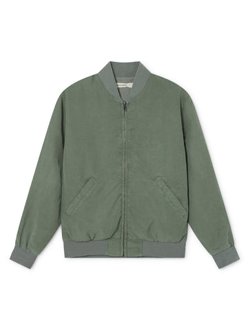 TWOTHIRDS Womens Jacket: Vulcano - Washed Green front