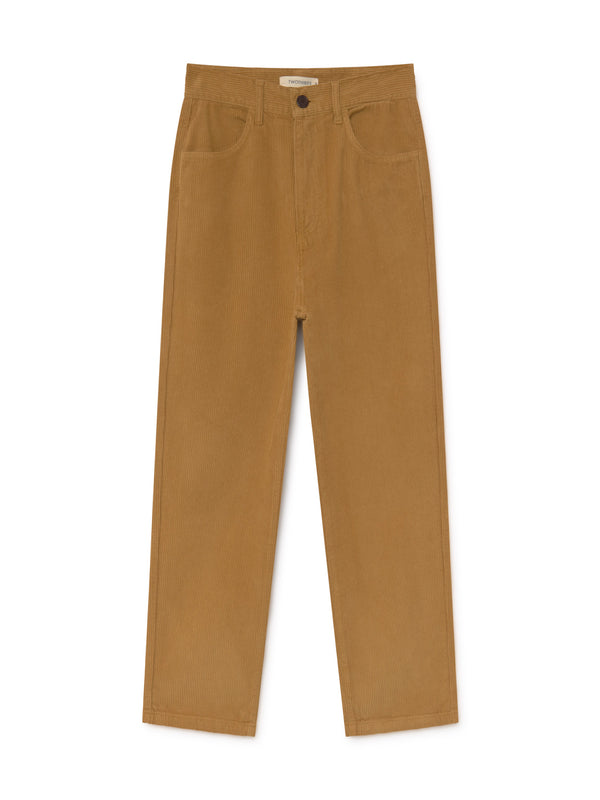 TWOTHIRDS Women Pants: Waglan - Mustard front