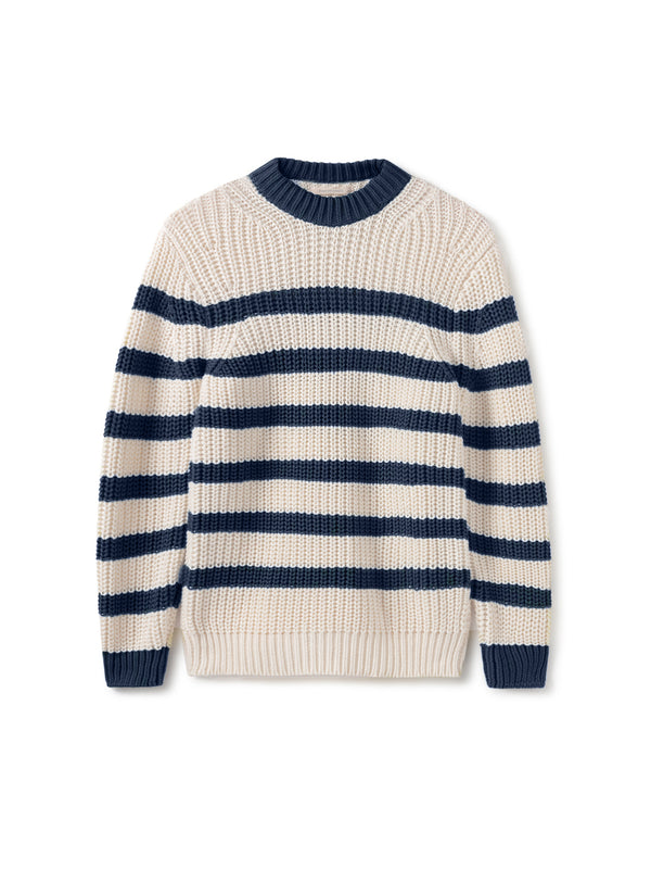 Walker - Navy Stripes