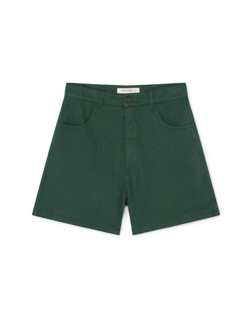 TWOTHIRDS Womens Shorts: Yonaguni - Dark Green front