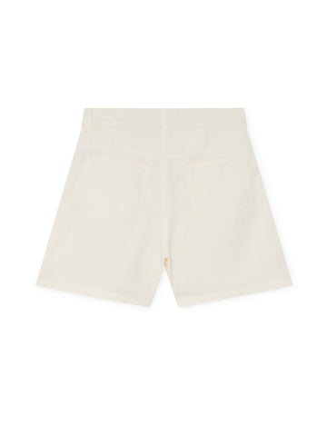 TWOTHIRDS Womens Shorts: Yonaguni - Ecrue back