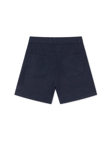 TWOTHIRDS Womens Shorts: Yonaguni - Navy back