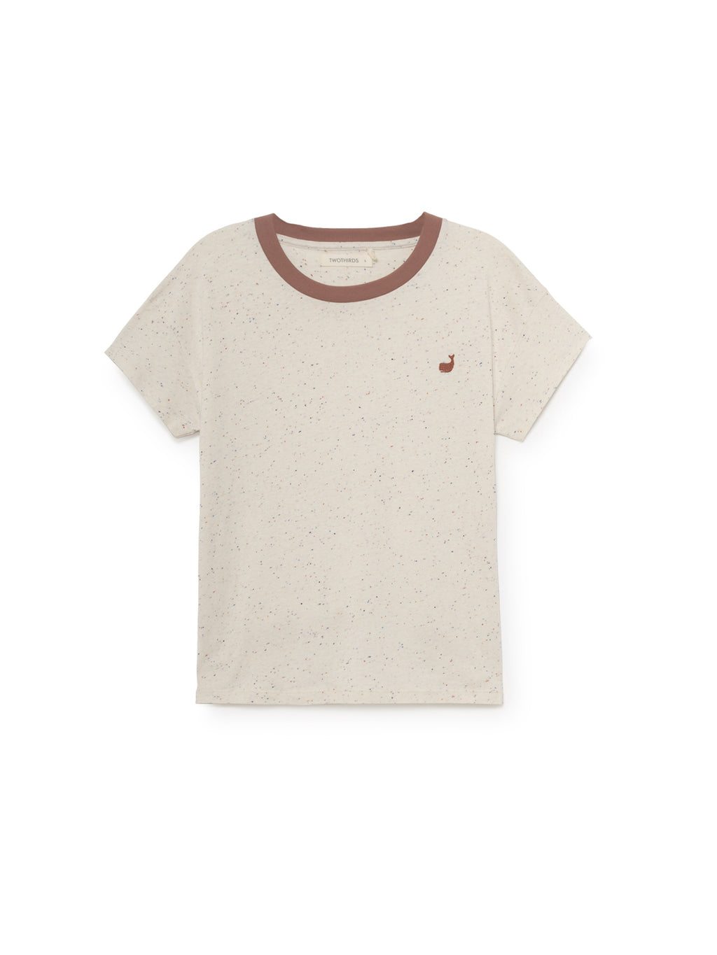 TWOTHIRDS Womens Tee: Ypsili - Ecrue front