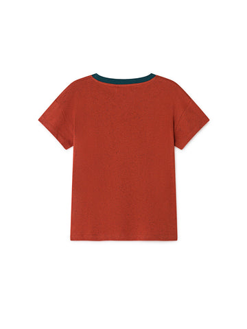 TWOTHIRDS Womens Tee: Ypsili - Picante back
