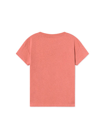 TWOTHIRDS Womens Tee: Ypsili - Cedar Wood back