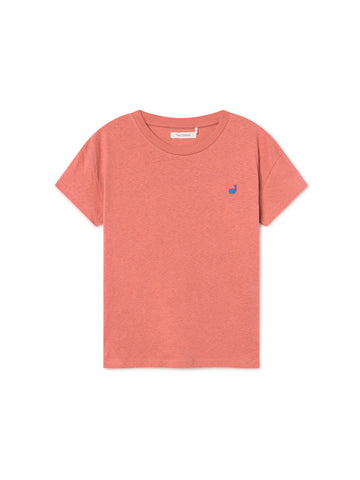 TWOTHIRDS Womens Tee: Ypsili - Cedar Wood front