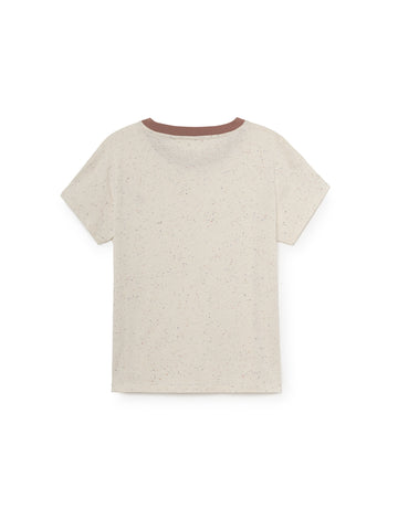 TWOTHIRDS Womens Tee: Ypsili - Ecrue back