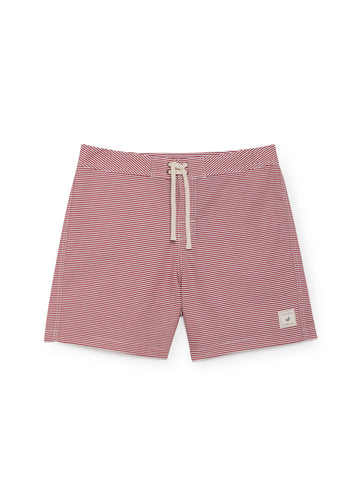 TWOTHIRDS Mens Boardshorts: Indah - Red front